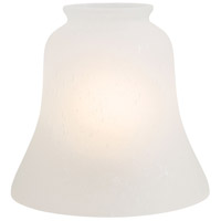 Minka-Aire Signature Glass Shade in Etched Seedy Glass 2565