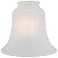 Minka-Aire Signature Glass Shade in Etched Marble 2567