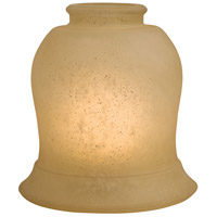 Minka-Aire Signature Glass Shade in Aged Champagne 2593-1