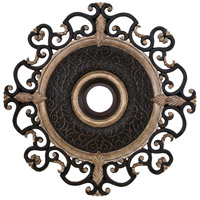 Napoli Sterling Walnut Ceiling Fan Medallion