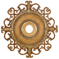 Minka-Aire Napoli Ceiling Fan Medallion in Tuscan Patina CM7038-TSP