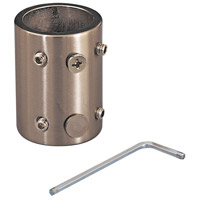 Signature Smoked Iron Ceiling Fan Downrod Coupler