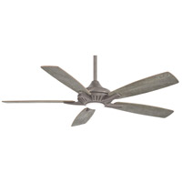 Dyno 52 inch Burnished Nickel with Savannah Gray Blades Ceiling Fan