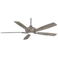 Minka-Aire F1001-BNK Dyno XL 60 inch Burnished Nickel with Savannah Gray Blades Smart Fan
