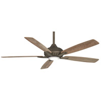 Minka-Aire F1001-HBZ Dyno XL 60 inch Heirloom Bronze with Barnwood Blades Smart Fan