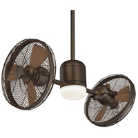 Gyro 42 inch Oil Rubbed Bronze with Medium Maple Blades Ceiling Fan