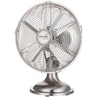 Minka-Aire F310-BN Retro II Brushed Nickel 15 inch Table Fan