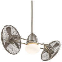 Minka-Aire F402-BNW Gyro Wet 42 inch Brushed Nickel Wet with Silver Blades Ceiling Fan