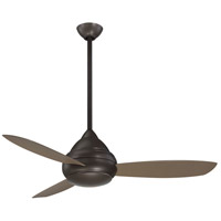 Concept I Wet 52 inch Oil Rubbed Bronze with Taupe Blades Ceiling Fan