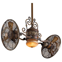 Minka-Aire F502-BCW Traditional Gyro 42 inch Belcaro Walnut Ceiling Fan