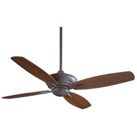 Minka-Aire F513-ORB New Era 52 inch Oil Rubbed Bronze with Medium Maple Blades Ceiling Fan