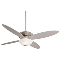 Minka-Aire Zen 2 Light 52in Ceiling Fan in Brushed Nickel F514-BN