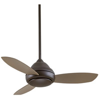 Minka-Aire F516L-ORB Concept I 44 inch Oil Rubbed Bronze with Taupe Blades Ceiling Fan