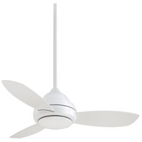 Minka-Aire F516L-WH Concept I 44 inch White Ceiling Fan