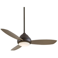 Minka-Aire Concept (I) 1 Light Ceiling Fan in Oil Rubbed Bronze F517-ORB