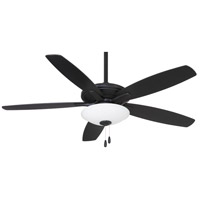 Minka-Aire F522L-CL Mojo 52 inch Coal Ceiling Fan in White Frosted