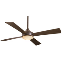 Minka-Aire F523L-ORB Aluma Wet 52 inch Oil Rubbed Bronze Outdoor Ceiling Fan