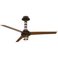 Minka-Aire San Francisco 1 Light 56in Ceiling Fan in Oil Rubbed Bronze F529-L-ORB