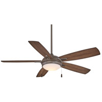 Lun-Aire 54 inch Oil Rubbed Bronze with Dark Pine Blades Ceiling Fan