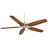 Great Room Traditional 72 inch Brushed Nickel with Dark Walnut Blades Ceiling Fan
