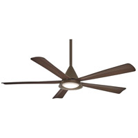 Minka-Aire F541L-ORB Cone 54 inch Oil Rubbed Bronze with Medium Maple Blades Ceiling Fan