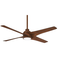 Swept 56 inch Distressed Koa Ceiling Fan