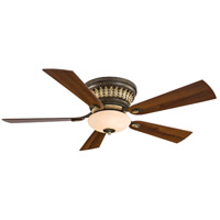 Minka-Aire Calais 2 Light Ceiling Fan in Golden Bronze F544-GBZ