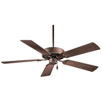 Contractor 42 inch Oil Rubbed Bronze with Medium Maple Blades Ceiling Fan