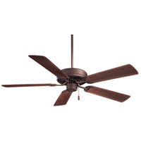 Minka-Aire F547-ORB Contractor 52 inch Oil Rubbed Bronze with Medium Maple Blades Ceiling Fan