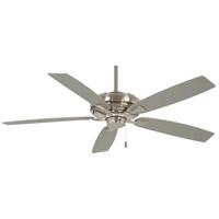 Minka-Aire F551-BN Watt 60 inch Brushed Nickel with Savannah Gray Blades Ceiling Fan