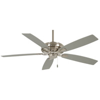 Minka-Aire F551-BN Watt 60 inch Brushed Nickel with Savannah Gray Blades Ceiling Fan