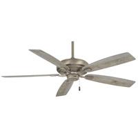 Minka-Aire F551-BNK Watt 60 inch Burnished Nickel with Savannah Gray Blades Ceiling Fan