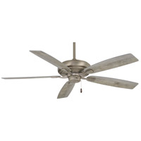 Minka-Aire F551-BNK Watt 60 inch Burnished Nickel with Savannah Gray Blades Ceiling Fan