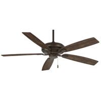 Minka-Aire F551-ORB Watt 60 inch Oil Rubbed Bronze with Rustic Wood Blades Ceiling Fan