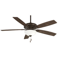 Minka-Aire F552L-ORB Watt II 60 inch Oil Rubbed Bronze with Rustic Wood Blades Ceiling Fan