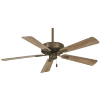 Contractor Plus 52 inch Heirloom Bronze with Barnwood Blades Ceiling Fan