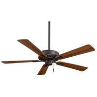 Minka-Aire F556-ORB Contractor Plus 52 inch Oil Rubbed Bronze with Reversible Medium Maple/Dark Walnut Blades Ceiling Fan in Dark Maple/Dark Walnut