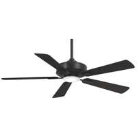 Minka-Aire F556L-CL Contractor 52 inch Coal Ceiling Fan
