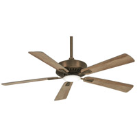 Minka-Aire F556L-HBZ Contractor Plus 52 inch Heirloom Bronze with Barnwood Blades Ceiling Fan
