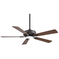 Contractor Plus 52 inch Oil Rubbed Bronze with Medium Maple/Dark Walnut Reversible Blades Ceiling Fan