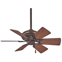 Minka-Aire F562-ORB Supra 32 inch Oil Rubbed Bronze with Medium Maple Blades Ceiling Fan
