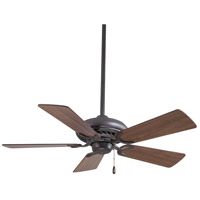 Minka-Aire F563-ORB Supra 44 inch Oil Rubbed Bronze with Medium Maple Blades Ceiling Fan