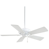 b9e54911675c Minka-Aire F563-WH Supra 44 inch White Ceiling Fan photo thumbnail