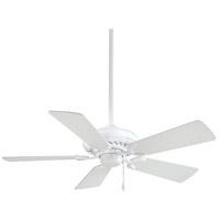 Minka-Aire F563-WH Supra 44 inch White Ceiling Fan