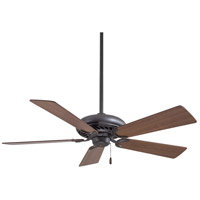 Minka-Aire F568-ORB Supra 52 inch Oil Rubbed Bronze with Medium Maple Blades Ceiling Fan