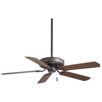 Sundance 52 inch Oil Rubbed Bronze with Dark Oak Blades Outdoor Ceiling Fan