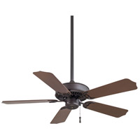 Sundance 42 inch Oil Rubbed Bronze with Dark Oak Blades Outdoor Ceiling Fan