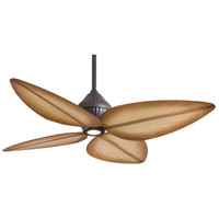 Gauguin 52 inch Oil Rubbed Bronze with Bahama Beige Blades Outdoor Ceiling Fan