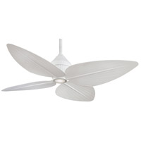 Gauguin 52 inch Flat White Ceiling Fan