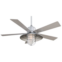 Minka-Aire F582-GL Rainman 54 inch Galvanized with Silver Blades Ceiling Fan